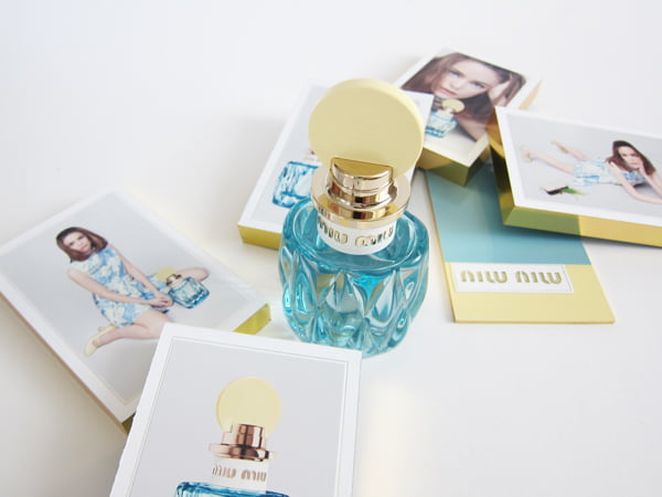 Miu Miu L'Eau Bleue EdP (Hey Pretty Beauty Blog)