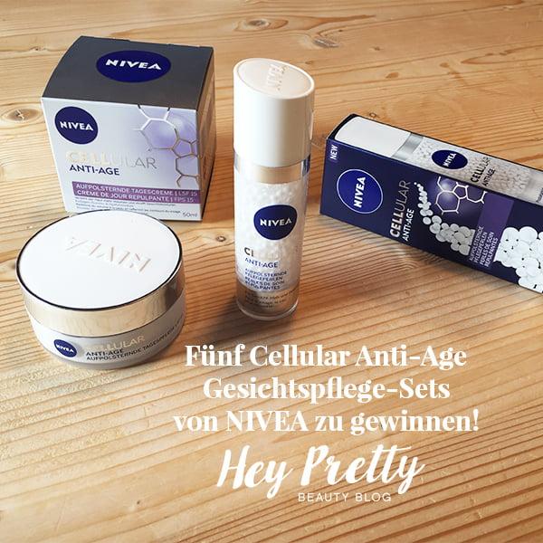 NIVEA Cellular Anti-Age Aufpolsternde Gesichtspflege: Verlosung auf Hey Pretty Beauty Blog
