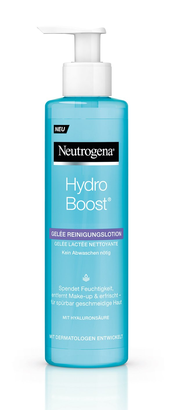 Neutrogena Hydro Boost Gelee Reinigungslotion (Review von Hey Pretty)
