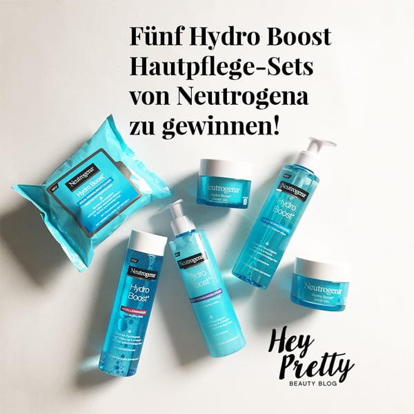 Gewinne die ganze Hydro Boost Linie von Neutrogena
