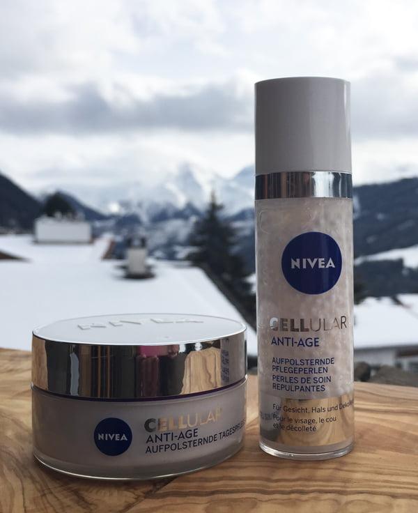 NIVEA Cellular Anti-Age Aufpolsternde Gesichtspflege, Erfahrungsbericht Hey Pretty Beauty Blog