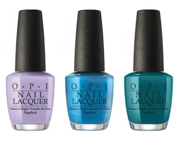 OPI Polly Want A Lacquer?, Do You Sea What I Sea? und Is That a Spear In Your Pocket?
