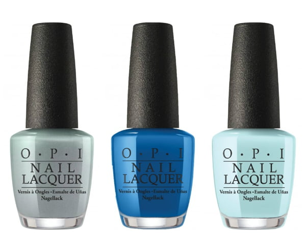 OPI I Can Never Hut Up, Super Trop-i-cal-i-fiji-istic and Suzi Without a Paddle