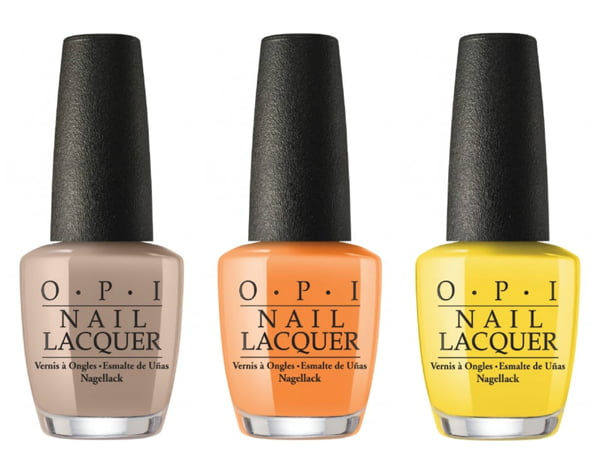 OPI Coconuts over OPI, No Tan Lines and Exotic Birds Do Not Tweet