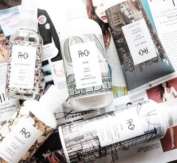 R+Co Haircare Products (PR Image)