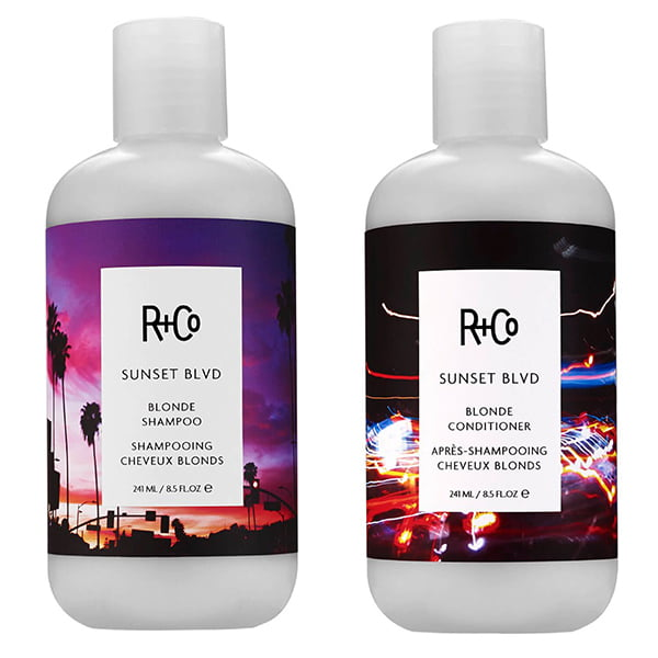 R+Co Sunset BVLD Shampoo and Conditioner