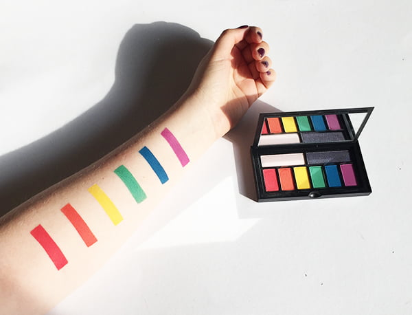 Smashbox Photo Finish Cover Shot Eye Palette in BOLD, Swatched by Hey Pretty Beauty Blog