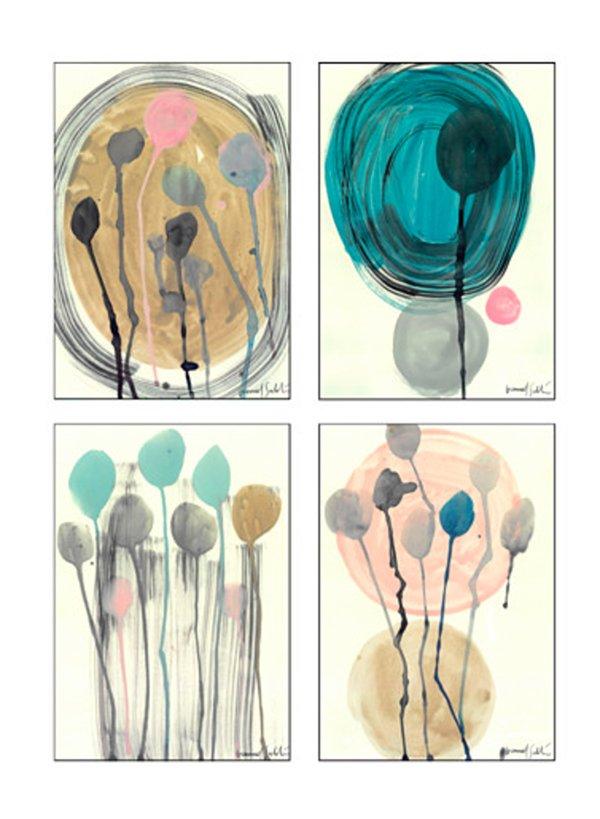 Pastell Living Ideen: IKEA Bilderset 80347610