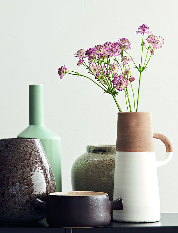 Frühlingsdeko Pastell: Vase Aila (PR Image Interio)