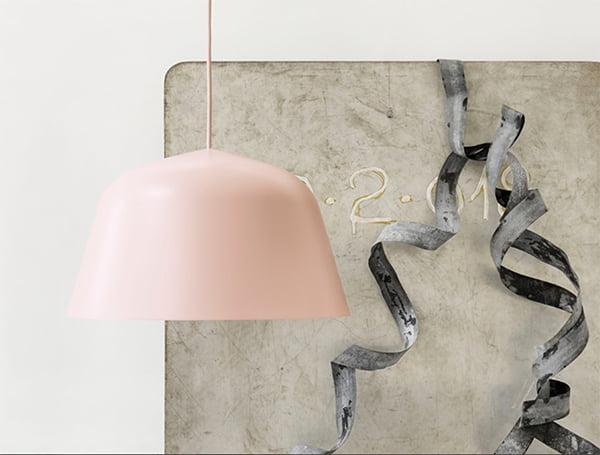 Deko-Ideen Pastell: Ambit Leuchte von Muuto