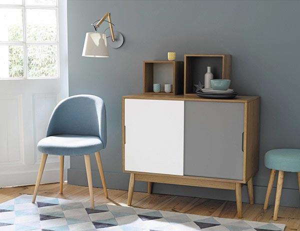 Einrichten mit Pastelltönen: Stuhl «Mauricette« von Maisons du Monde