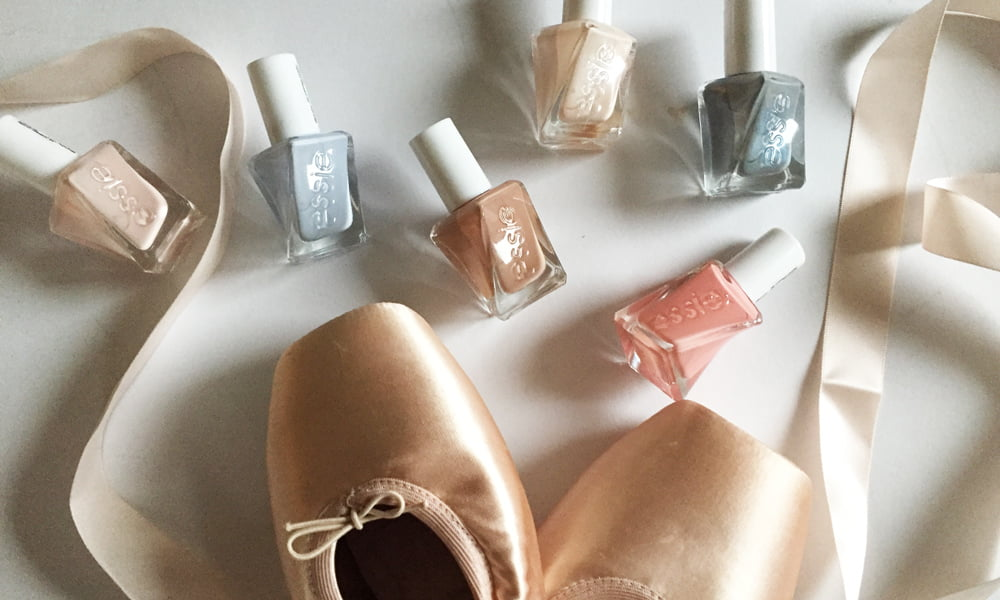 Essie Gel Couture Ballet Nudes Collection (Review and Image by Hey Pretty)