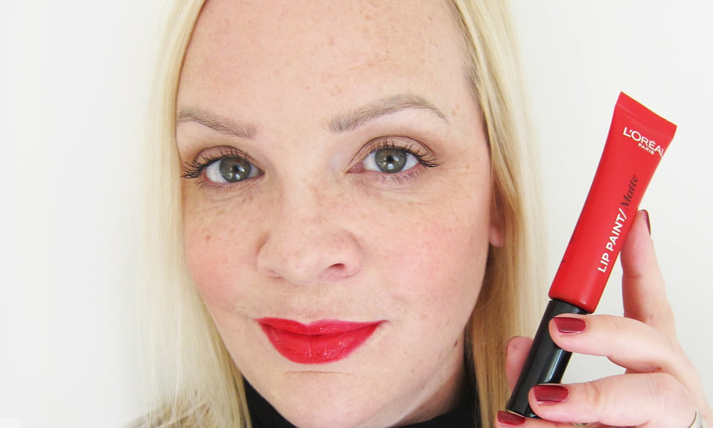 L'Oréal Paris Infaillible Lip Paints: Review und Swatches von Hey Pretty Beauty Blog