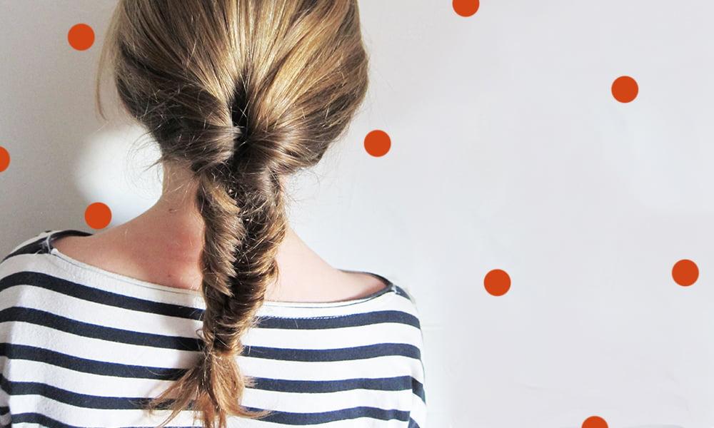 Fischgrätezopf, Step by Step Tutorial by Hey Pretty Beauty Blog