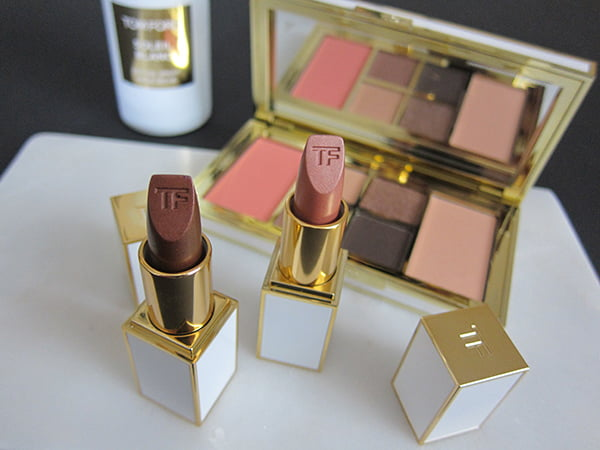 Tom Ford Soleil Eye and Cheek Palette and Lip Foils