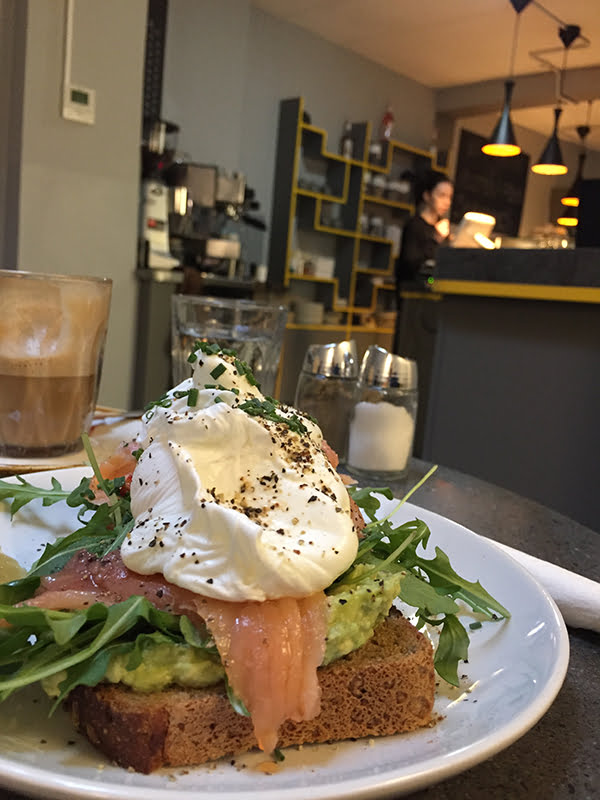 Gluten Free Breakfast at Beyond Bread, London