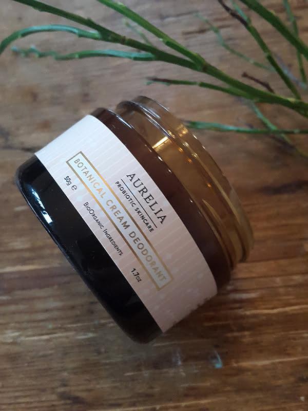 Aurelia Probiotic Botanical Cream Deodorant (Natürliche Deos im Test)