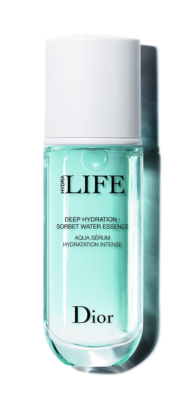 Dior Deep Hydration Sorbet Water Essence (Aqua sérum hydration intense), Hydra Life Review by Hey Pretty