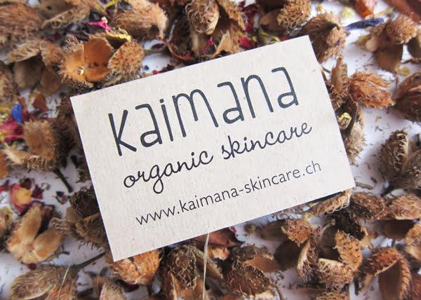 Kaimana Organic Skincare aus Zürich (Image by Hey Pretty)