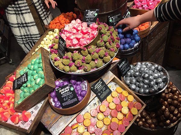 LUSH Bath Melts (Oxford Street London Store)