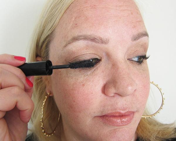 14: L'Oréal False Lash Superstar X-Fiber Mascara (Gold Smoky Eye Tutorial by Hey Pretty), La Palette Gold