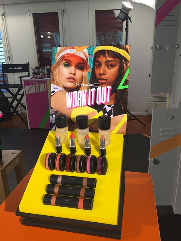 MAC Work It Out Launch Event Zurich (Image by Hey Pretty)