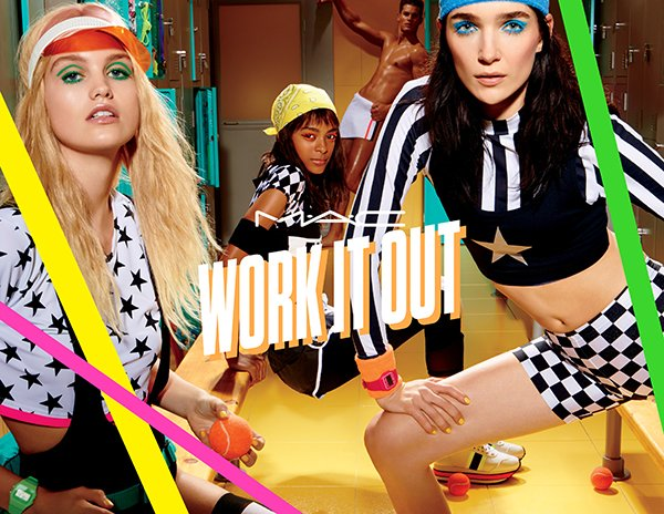 MAC Work It Out (Frühling 2017), limited Make-Up Collection
