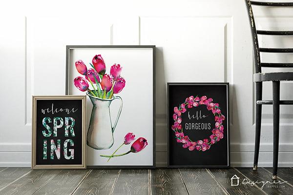 Hey Pretty DIY und Free Printable Ideen für Ostern und Frühling