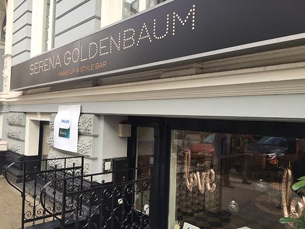 Serena Goldenbaum Hamburg, Aussen (Philips Schönheitstag 2017)