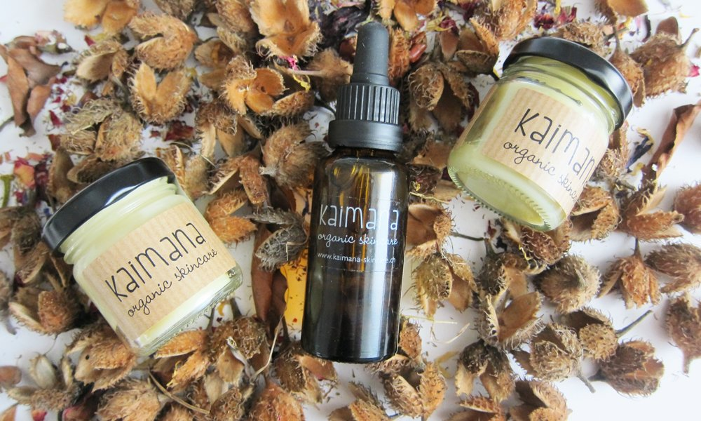 Kaimana Organic Skincare (all-natural, made in Zurich), Image by Hey Pretty Beauty Blog