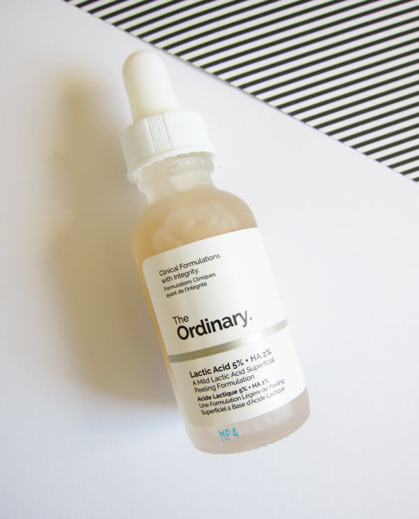 The Ordinary Lactic Acid 5% + HA 2% (Image and Review by Hey Pretty Beauty Blog)