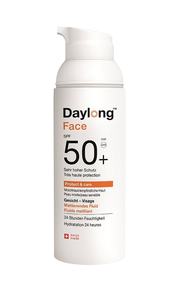 Daylong Protect & care Face Fluid SPF 50+ (Produktereview Hey Pretty)