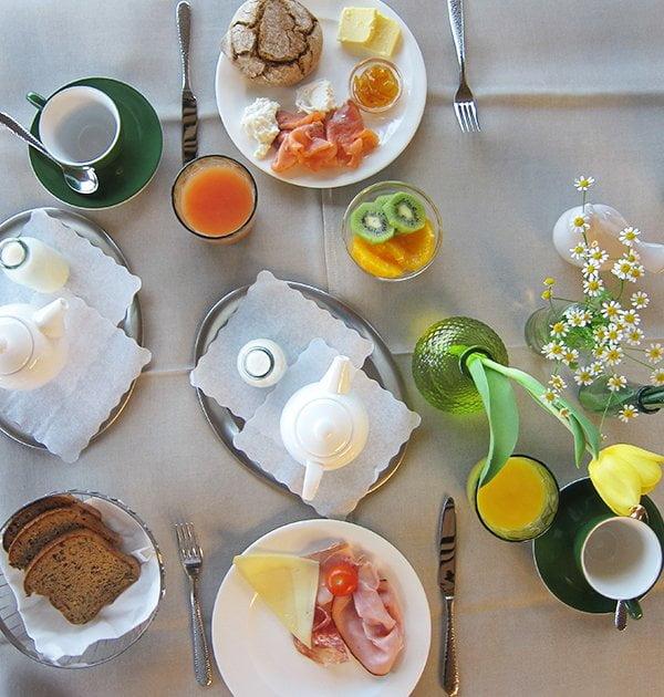 Fritsch am Berg MentalSpa: Frühstück (Bild von Hey Pretty)