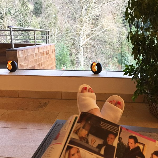 Entspannt im Fritsch am Berg (Image by Hey Pretty): Wellness Review