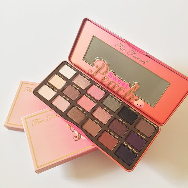 Too Faced Sweet Peach Lidschattenpalette: Verlosung auf Hey Pretty