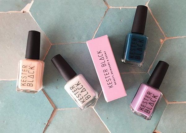 Kester Black Nagellacke (10 Free), Review und Erfahrungsbericht auf Hey Pretty Beauty Blog, erhältlich bei Green Lane Zürich