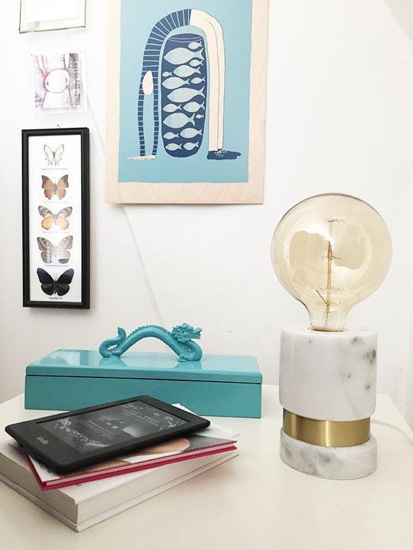 La Redoute Nachttischlampe Madrigal, styled by Hey Pretty #myredoute