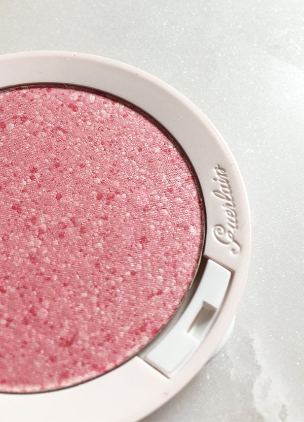 Closeup of Guerlain Meteorites Happy Glow Blush (30th Anniversary Limited Edition), Image by Hey Pretty Beauty Blog