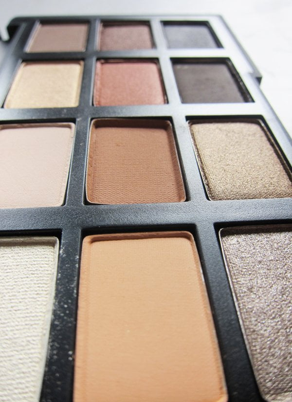 NARSissist Loaded Eyeshadow Palette, Closeup (Image by Hey Pretty Beauty Blog)