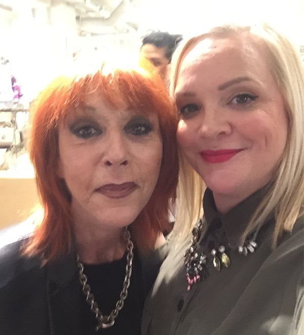 Make Up For Ever Founder Dany Sanz (Hey Pretty Review) Sephora at Manor Opening Zürich