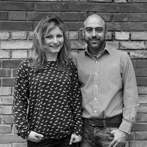Kathleen Krug und Fabian Isaac von bepure Naturkosmetik (Review Hey Pretty)