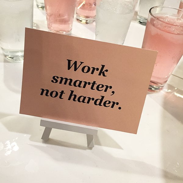 Work smarter, not harder! Career Girl Academy in London (May 2017): Erfahrungsbericht und Review von Hey Pretty
