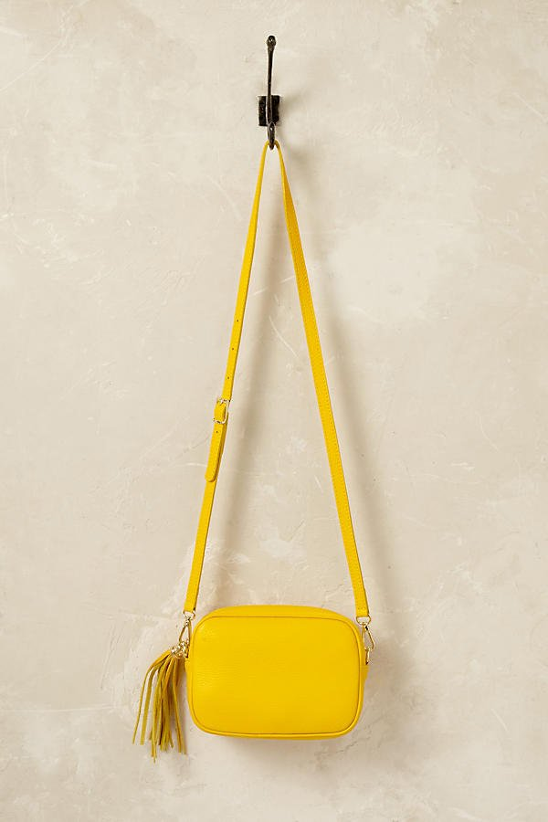 Anthropologie Miriam Leather Cross-Body Bag (Fashion Flash auf Hey Pretty)