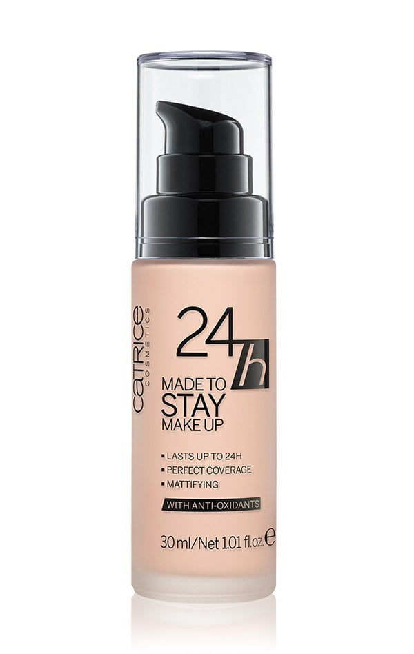 Catrice Made to Stay 24h Make Up (Full Coverage Foundation Roundup auf Hey Pretty)