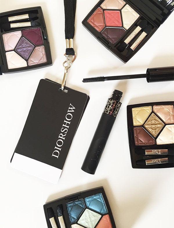 Diorshow Pump'n'Volume Mascara and 5 Couleurs Eyeshadow Palettes