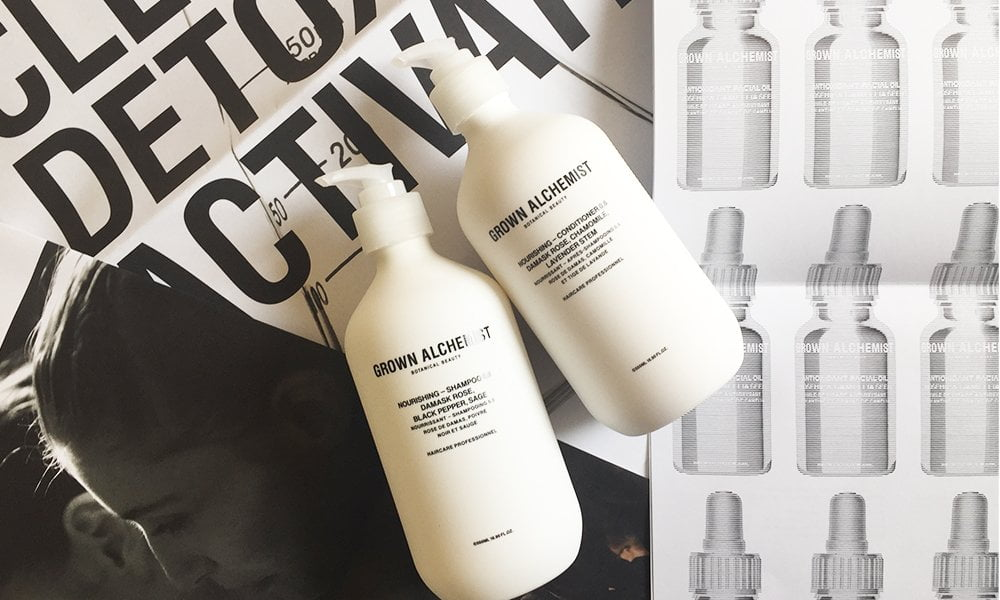 Grown Alchemist Interview with Jeremy and Keston Muijs, plus review of their new haircare line