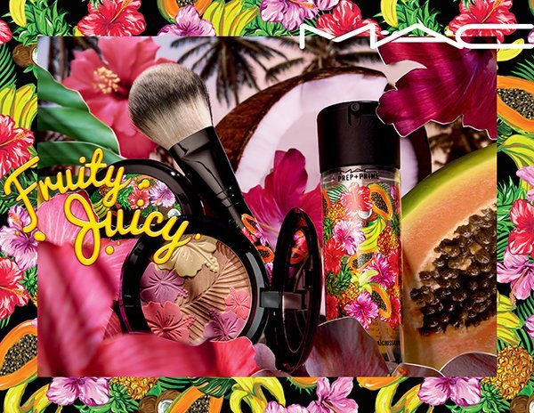 MAC Fruity Juicy PR Visual with Products