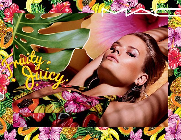 MAC Fruity Juicy PR Visual with Model