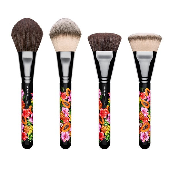 MAC Fruity Juicy Split Fibre Brushes 125 and 126