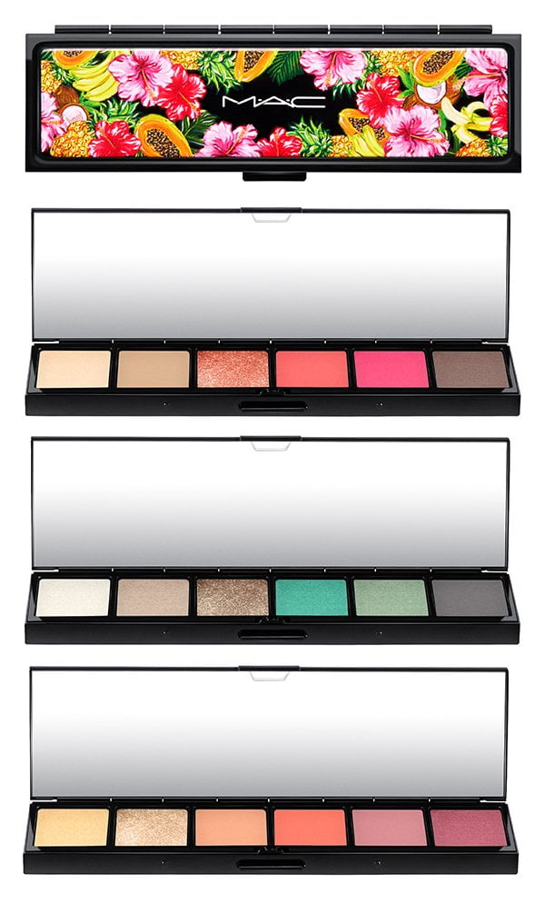 MAC Fruity Juicy Eye Shadow x 6 Palettes in Fruit a la la, Love in the Glades and Oh My Banana